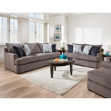 8540 Grandstand Flannel Living Room
