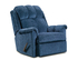 2100 Tahoe Blue Rocker Recliner