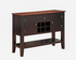 8202-5120 Black & Cherry Sideboard