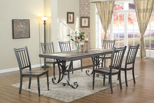CDC340 Metal Dining Room Set