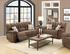 UMC22 Jasmine Walnut Motion Living Room