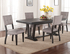 1105 Ashen Echo Dining Table and Four Chairs