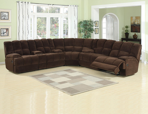 Donna Chocolate Options Sectional